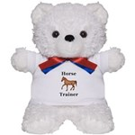 Horse Trainer Teddy Bear