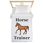 Horse Trainer Twin Duvet