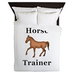 Horse Trainer Queen Duvet