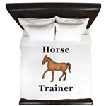 Horse Trainer King Duvet