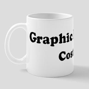 Graphic Designer costume Mug