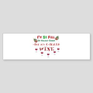 Holiday Cheer Bumper Sticker
