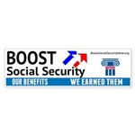 Boost Bumper Sticker
