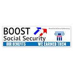 Boost Bumper Sticker
