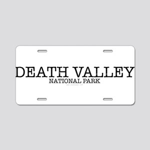 Death Valley National Park Aluminum License Plate