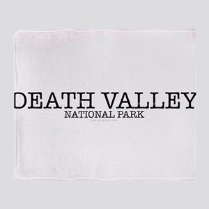 Death Valley National Park DVNP Throw Blanket