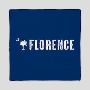 Florence, South Carolina Queen Duvet