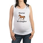 Horse Wrangler Maternity Tank Top