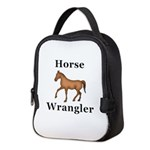 Horse Wrangler Neoprene Lunch Bag