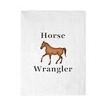 Horse Wrangler Twin Duvet