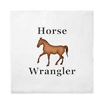 Horse Wrangler Queen Duvet