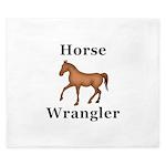 Horse Wrangler King Duvet