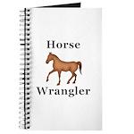 Horse Wrangler Journal