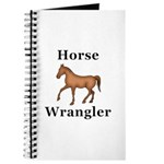 Horse Wrangler Journal