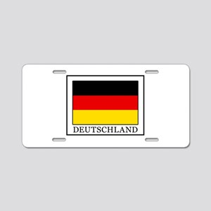 Deutschland Aluminum License Plate