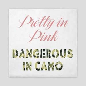 Dangerous in Camo Queen Duvet