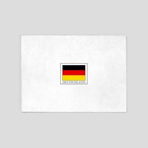 Deutschland 5'x7'Area Rug