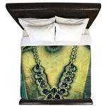 Mystic topaz necklace King Duvet