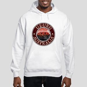 Uluru, Australia Hooded Sweatshirt