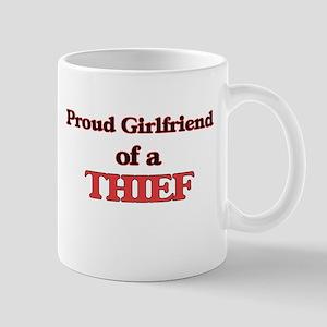 Proud Girlfriend of a Thief Mugs