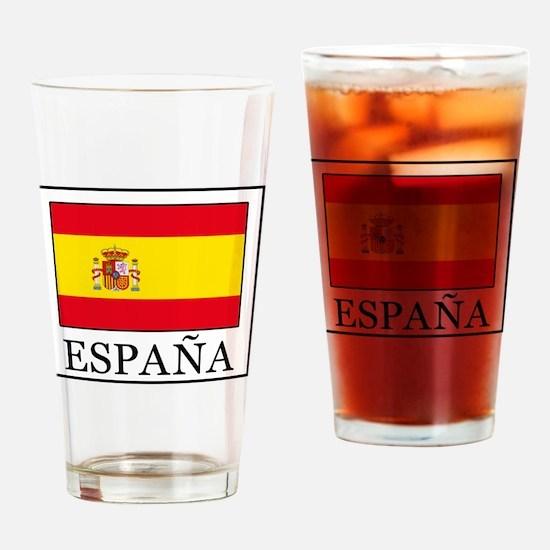Cute Espana Drinking Glass