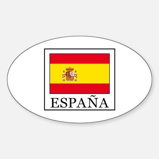 Cute Sevilla Sticker (Oval)
