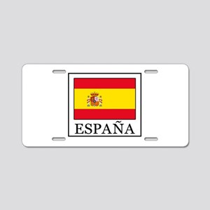 España Aluminum License Plate