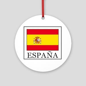 España Round Ornament