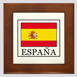 España Framed Tile