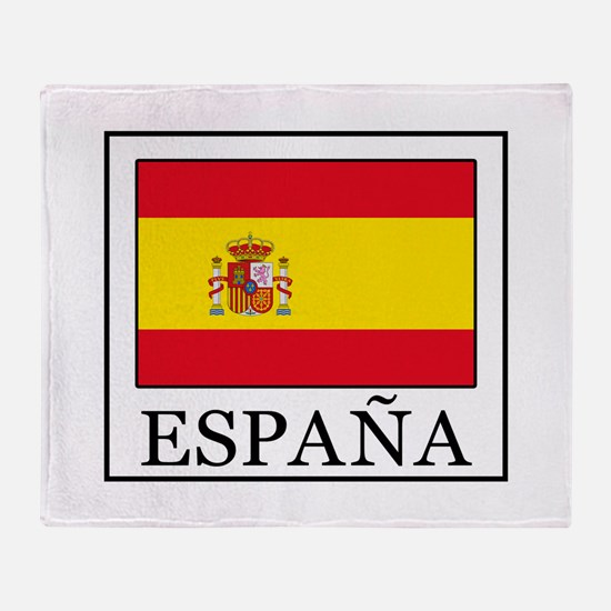 España Throw Blanket