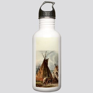 Assiniboin teepee Nati Stainless Water Bottle 1.0L