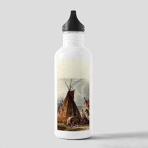 Assiniboin teepee Nati Stainless Water Bottle 1.0L