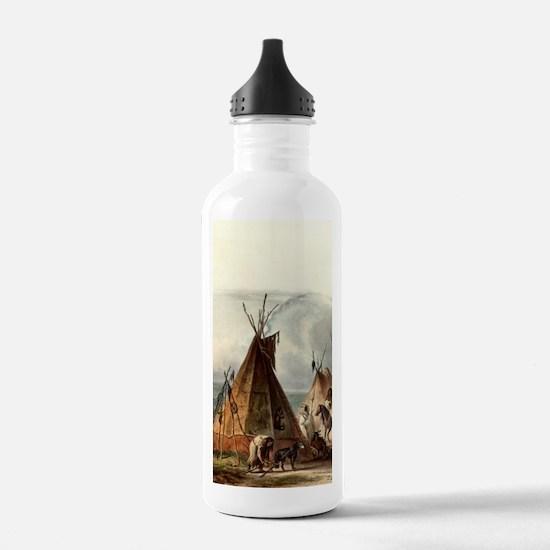 Assiniboin teepee Nati Water Bottle