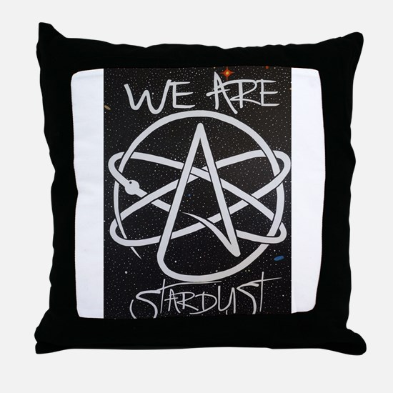 We Are Stardust Throw Pillow