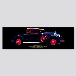 Art Deco Jazz Era Roadsters Bumper Sticker