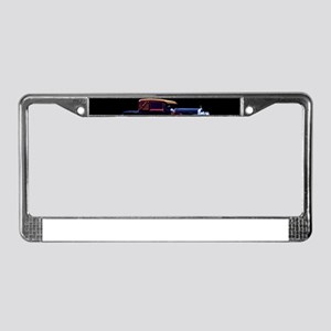 Art Deco Jazz Era Roadsters License Plate Frame