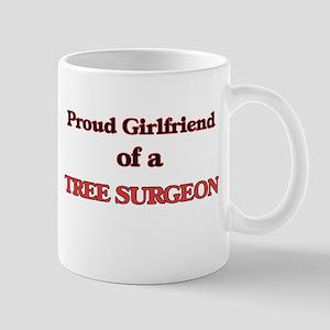 Proud Girlfriend of a Tree Surgeon Mugs