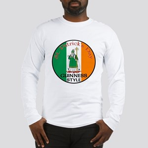 Guinness, St. Patrick's Day Long Sleeve T-Shirt