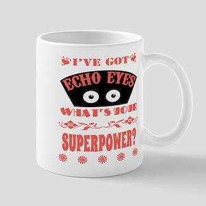 Echo Eyes Superpower Coral Mug