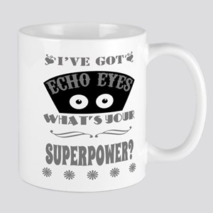 Echo Eyes Superpower Gray Mug