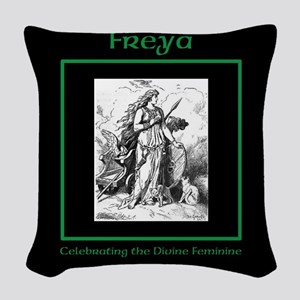 Freyja Woven Throw Pillow