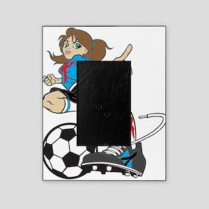 SOCCER GIRL Picture Frame