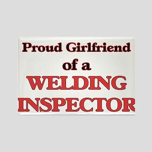 Proud Girlfriend of a Welding Inspector Magnets