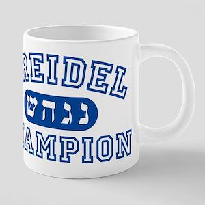 Dreidel Champion Mugs