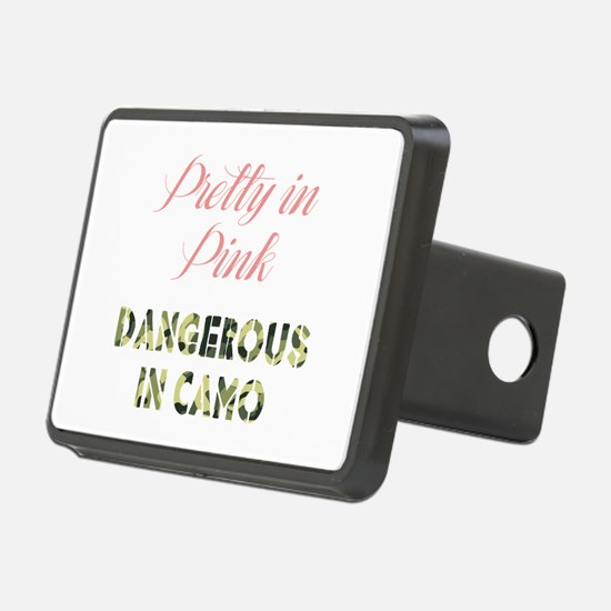 Dangerous in Camo Hitch Cover