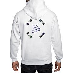 Favorite Position? (Burst) - Hooded Sweatshirt