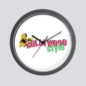Bollywood Style Wall Clock