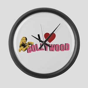 I Love Bollywood Large Wall Clock