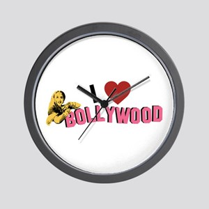 I Love Bollywood Wall Clock
