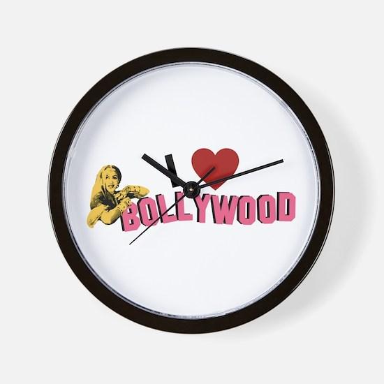 I Love Bollywood Wall Clock